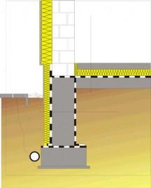 Chemia budowlana - Izolacja pozioma i pionowa w budynku  niepodpiwniczonym